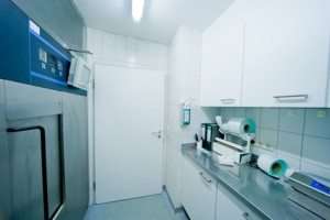 wide angle in sterile room